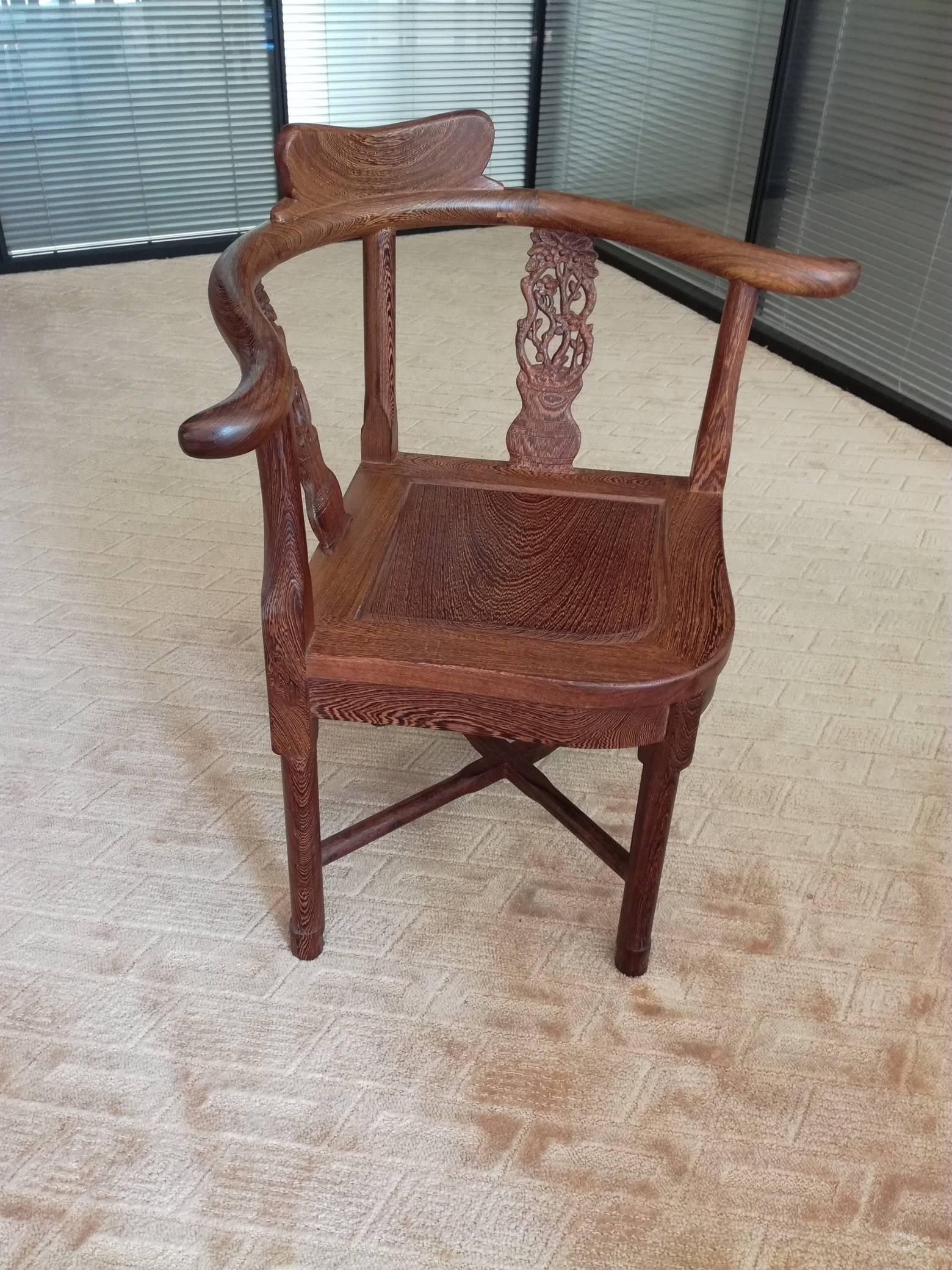 红木家具 红木茶桌椅 鸡翅木茶桌实木泡茶桌椅 中式茶桌椅