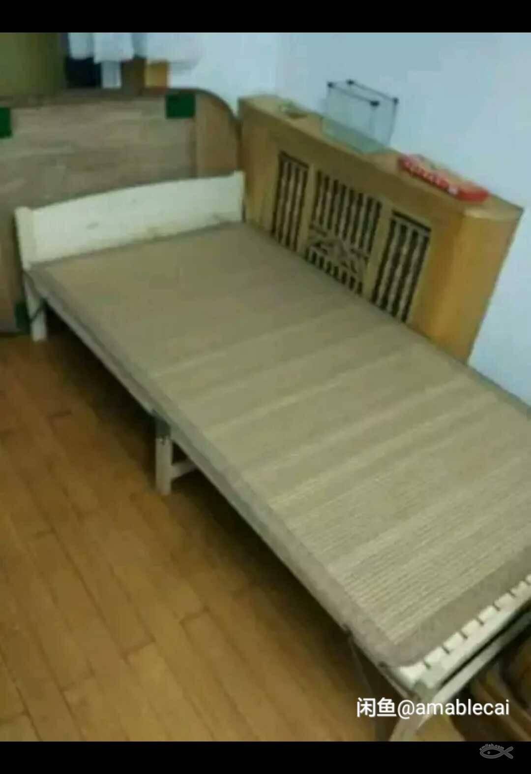 折叠简易木床安装图