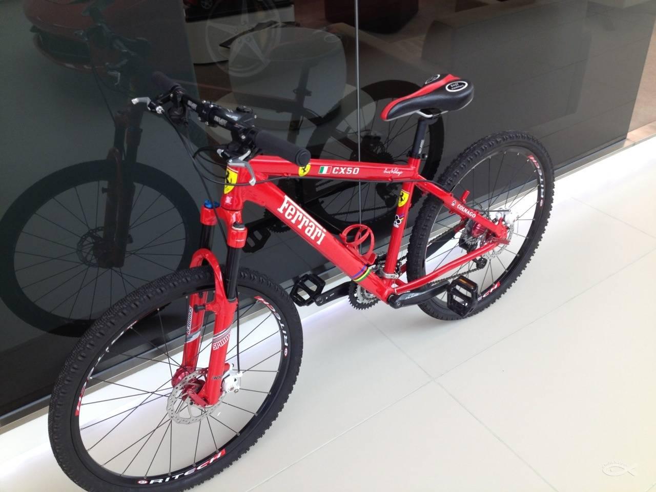 全新法拉利自行车转让高清图片