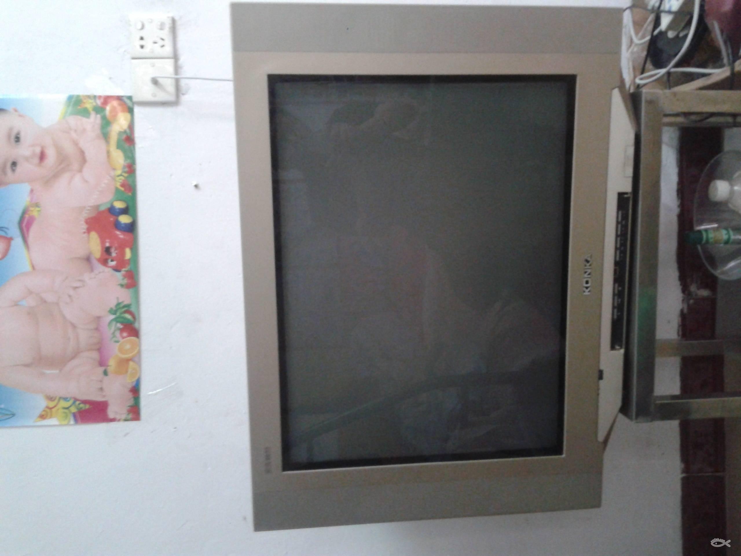 300元一台-29寸康佳彩色电视机转让-纯平彩电-大屁股