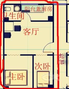单间出租房设计展示图片