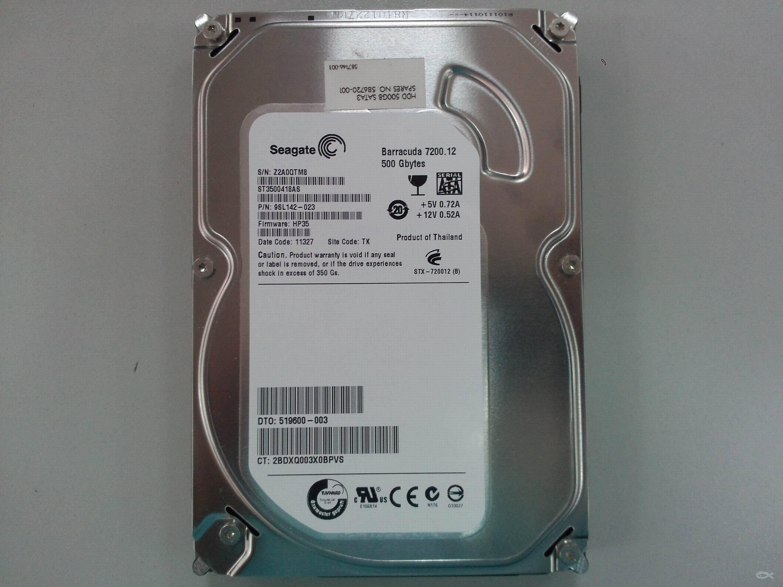 出希捷500G台式机硬盘图片