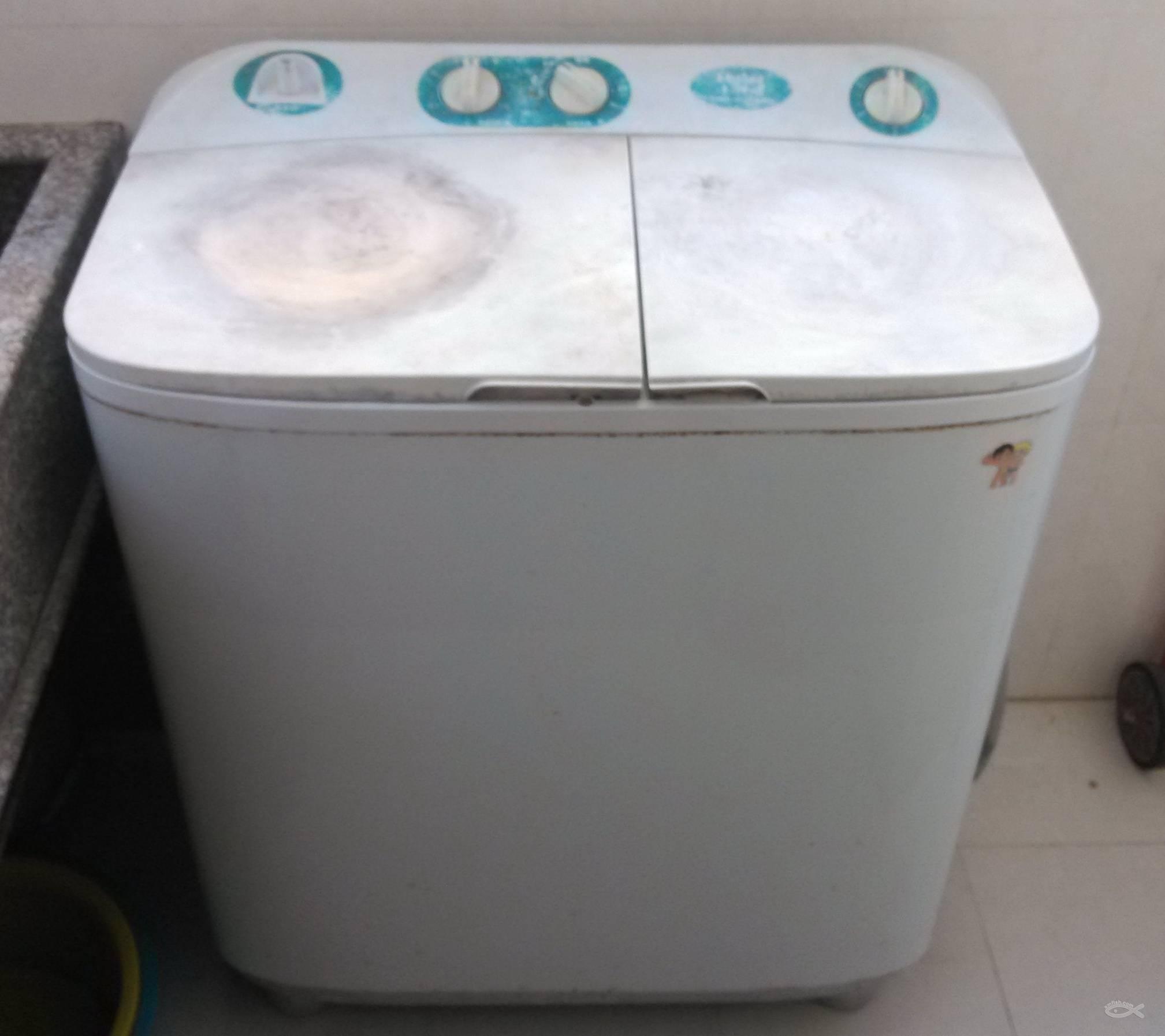 海尔半自动洗衣机 容量6.6公斤