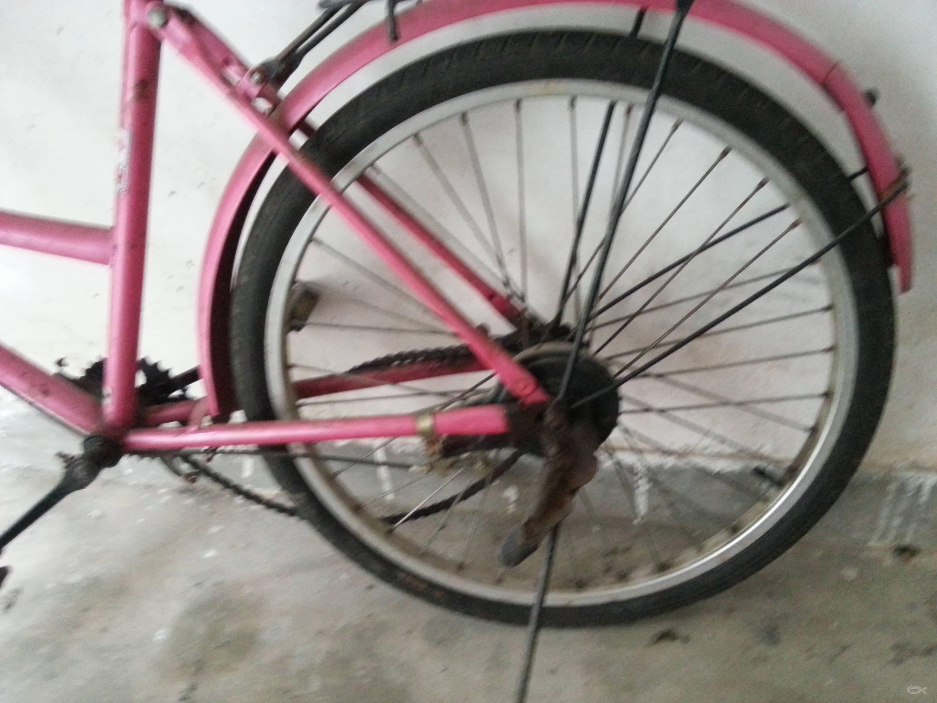 破旧的自行车,有人要吗