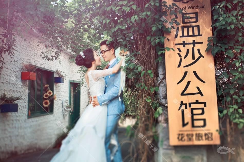 橘子爱婚纱摄影鼓浪屿婚照