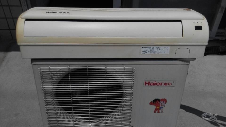 海尔空调1.5匹,志高空调大一匹