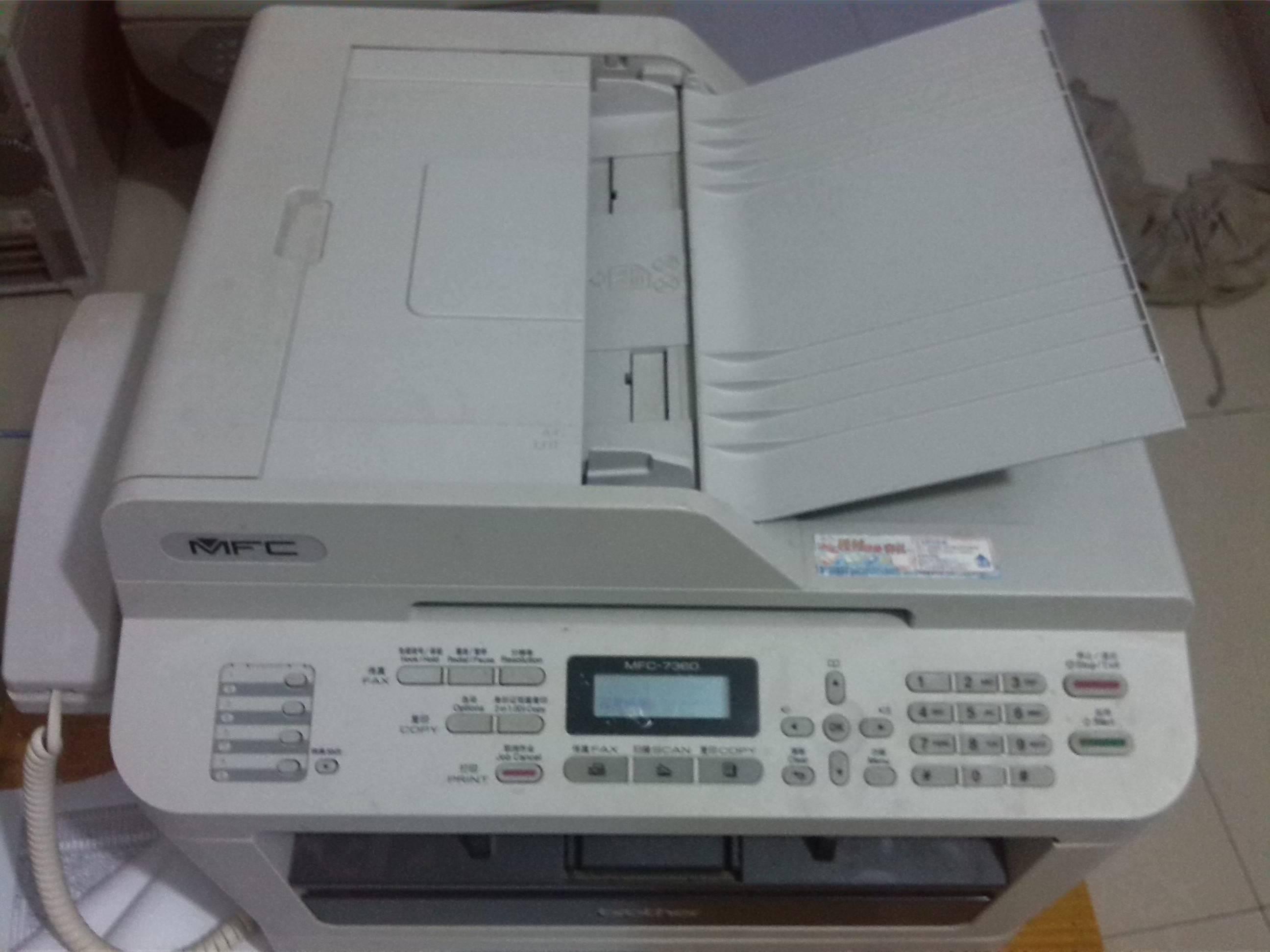 打印机、扫描仪品牌有: 兄弟、三星、理光、oki、爱普生针...