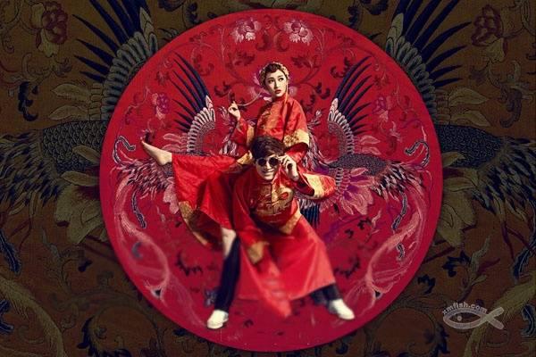 中式经典婚纱照怎么拍