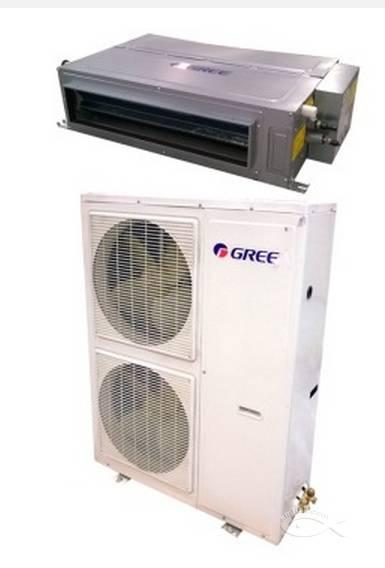 格力商用5p空调风管机